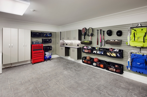 Great ideas for a golf lover s garage